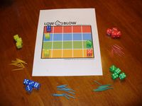 Board Game: Low Blow