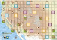 Board Game: Carcassonne Maps: USA West
