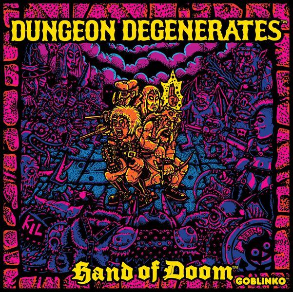 Dungeon Degenerates: Hand of Doom, Fourth Printing