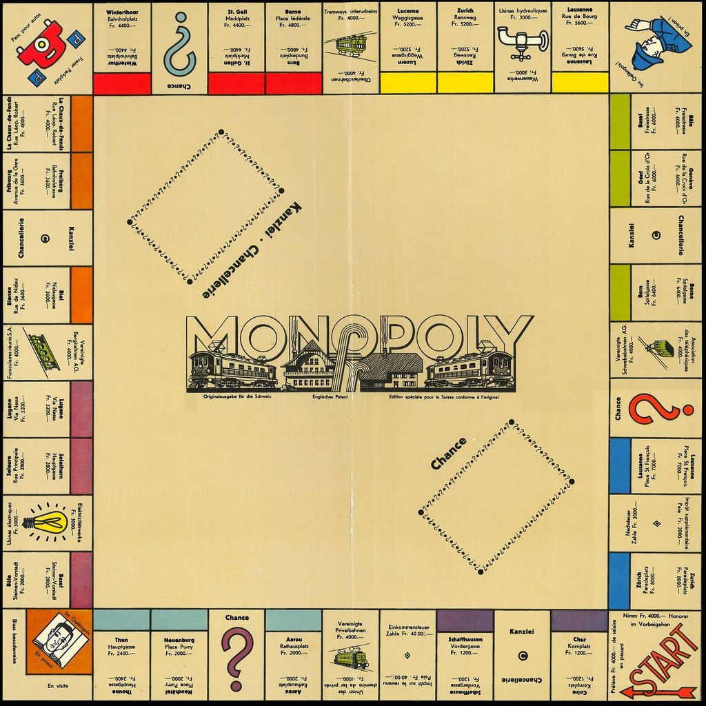 Drucken Sie Ihre Eigenen Monopoly Property