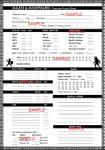RPG Item: Mazes & Minotaurs Character Record Sheet