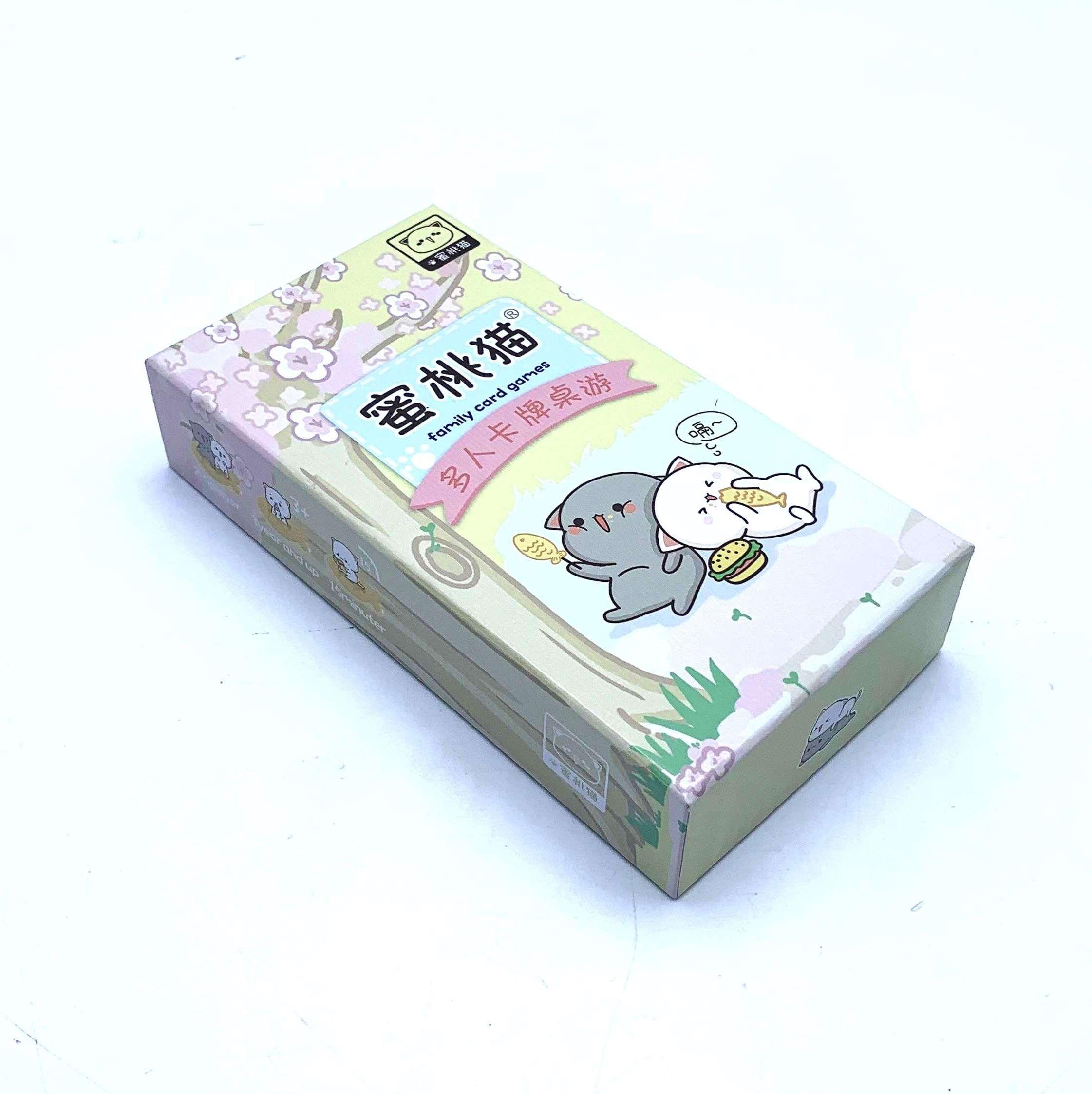 Mochi Mochi Peach Cat Card Game