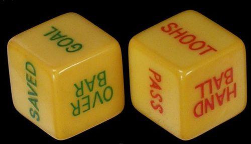 Board Game: Soccer Dice