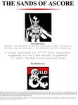 RPG Item: The Doom Portals 2 (Evil): The Sands of Ascore