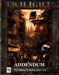 RPG Item: Twilight: 2013 Addendum