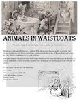 RPG Item: Animals in Waistcoats