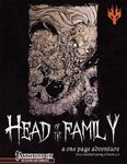 RPG Item: Head of The Family: A One Page Adventure (Pathfinder)