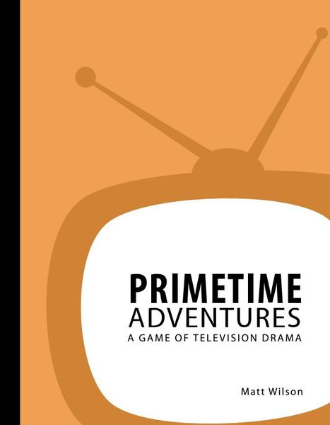 Front cover taken from the Primetime Adventures PDF