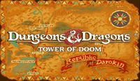 Video Game: Dungeons & Dragons: Tower of Doom