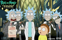 Board Game: Rick and Morty: Close Rick-Counters of the Rick Kind Deck-Building Game