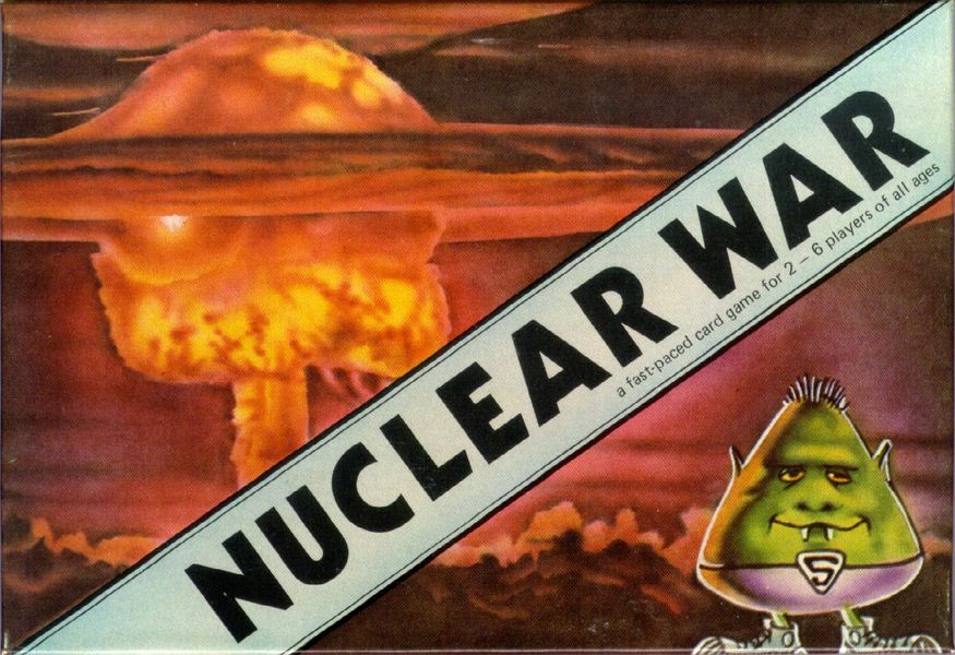 Box art scan of my immaculate copy of the 1980 Flying Buffalo version of Nuclear War.