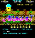 Video Game: Arabian
