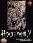 RPG Item: Head of The Family: A One Page Adventure (Savage Worlds)