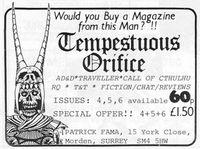 Periodical: Tempestuous Orifice