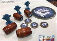 Board Game Accessory: Vikings on Board: Barrels