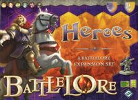 Board Game: BattleLore: Heroes Expansion