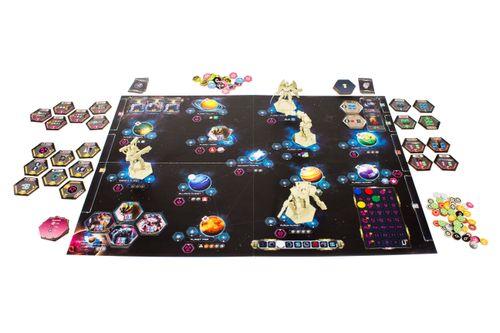 Board Game: Galaxy Hunters