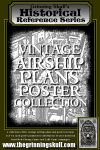 RPG Item: Vintage Airship Plans Poster Collection