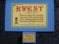 Board Game: Kwest: A Game of the Sea