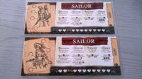 Board Game: Robinson Crusoe: Adventures on the Cursed Island – Sailor Character