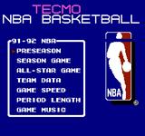 Video Game: Tecmo NBA Basketball