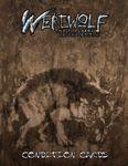 RPG Item: Werewolf: the Forsaken 2nd Edition Condition Cards