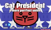 Video Game: Cat President ~A More Purrfect Union~