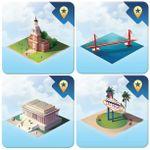 Board Game Accessory: Quadropolis: Monuments of the U.S.