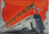 Streamlined Train Game (1938)