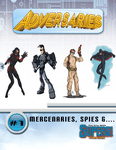 RPG Item: Adversaries #1: Mercenaries, Spies &... (Supers!)