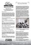 RPG Item: Duty & Honour Almanac, Edition Three