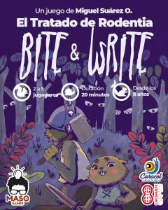 Bite and Write: The Treaty of Rodentia Cover Artwork