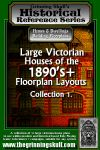 RPG Item: Large Victorian Houses of the 1890's+ Floorplan Layouts Collection 1