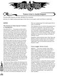 Issue: Fading Suns: Town Crier's Guild Report (Issue 1 - Nov 2017)