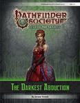 RPG Item: Pathfinder Society Scenario 6-23: The Darkest Abduction
