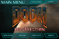 Video Game: Doom Resurrection
