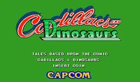 Video Game: Cadillacs and Dinosaurs