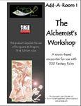 RPG Item: Add-A-Room I: The Alchemist's Workshop