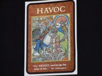 Board Game: Havoc Expansion: The Character Cards