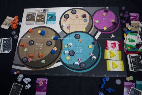 Board Game: Galilean Moons
