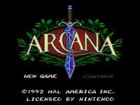 Video Game: Arcana