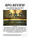 Issue: RPG Review (Issue 28 & 29 - Sep/Dec 2015)