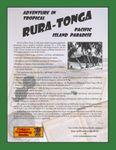 RPG Item: Heroes of Rura-Tonga