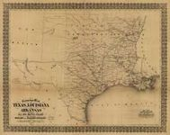 RPG Item: Antique Maps 10: Old Southwest in the 1800's