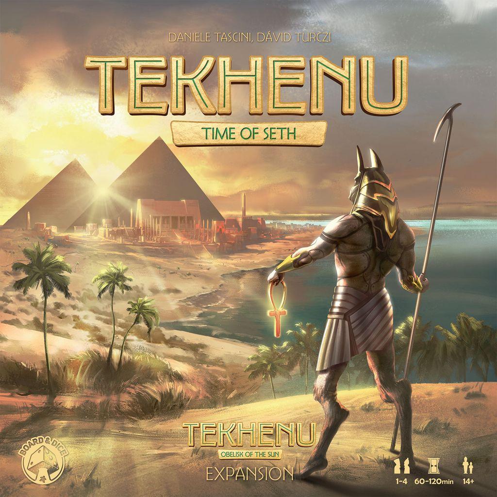 Board Game: Tekhenu: Time of Seth