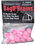 Board Game Accessory: Zombies!!!: Bag o' Brains!!!