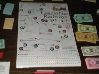Board Game: Lancashire Railways