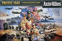 Board Game: Axis & Allies Pacific 1940