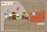 Board Game: Pocket Dungeon Quest