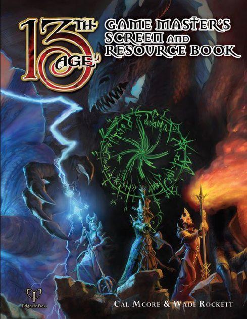 13th age gamemaster screen and resource book image rpggeek for Bureau 13 rpg pdf